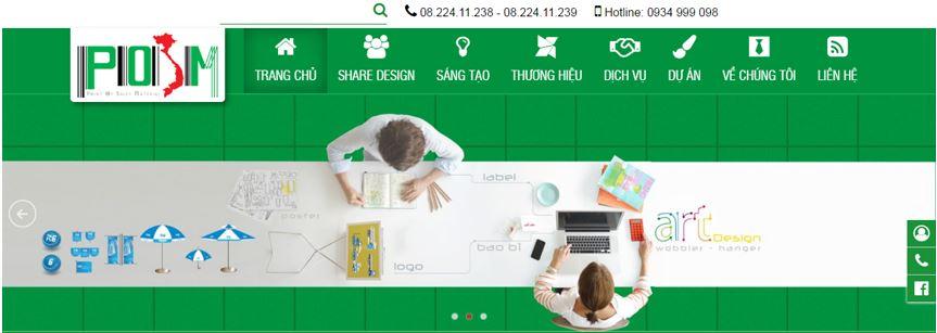 Nội dung của thiết kế website được phân chia thành nhiều danh mục Menu, sắp xếp ngăn nắp các nội dung liên quan theo nhu cầu của khách hàng.