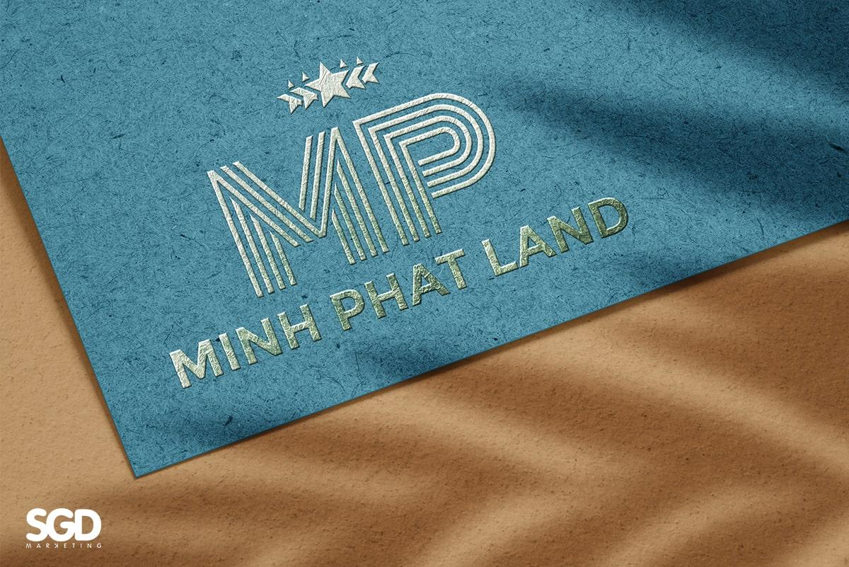 SGD Thiết kế logo công ty bất động sản Minh Phat Land