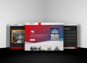 Bàn giao thiết kế website khách hàng VinhLuc.com.vn