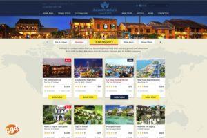 SGD.VN thiết kế website khách hàng An Nam Mandarin Travel & MICE