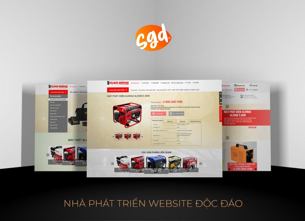 sgd.vn-cong-ty-thiet-ke-website-cua-hang-dien-may-cao-hung