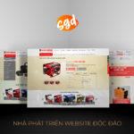 SGD.VN hân hạnh thiết kế website Điện Máy Cao Hùng